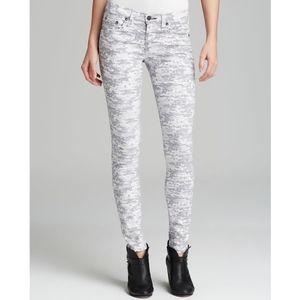 Rag & Bone digi camo skinny jeans - size 29